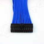 24 pin Blue PSU ATX extension cable