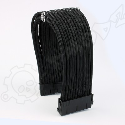 24 pin Black PSU ATX extension cable