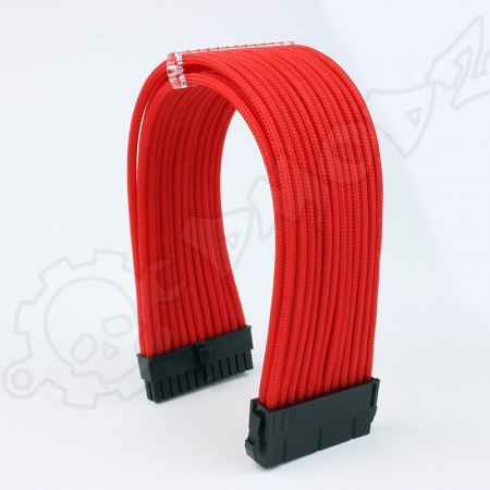 24 pin Red PSU ATX extension cable