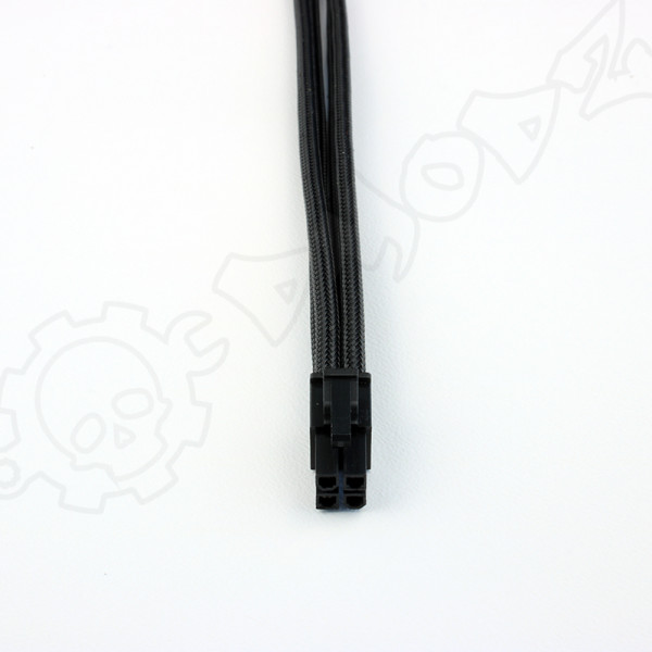 4 pin Black extension cable