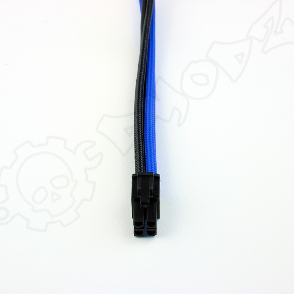4 pin Black Blue extension cable