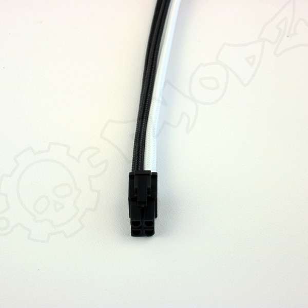 4 pin Black White extension cable