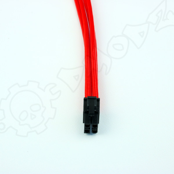 4 pin Red extension cable