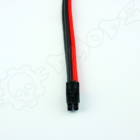 4 pin Black Red extension cable