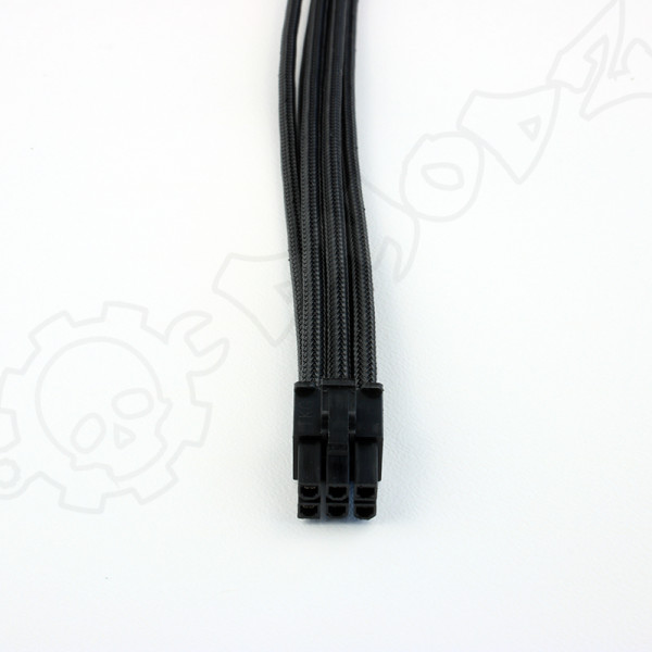 6 pin Black PCIE GPU extension cable