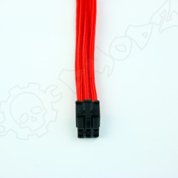 6 pin Red PCIE GPU extension cable