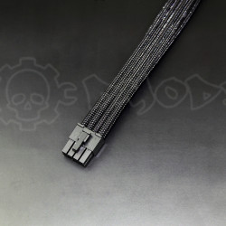 8 pin Black GPU PCIE extension cable