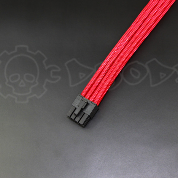 8 pin Red GPU PCIE extension cable