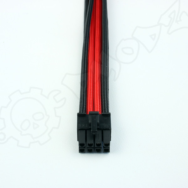8 pin Black Red EPS extension cable