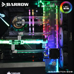 Barrow Distro plate Corsair Crystal CR570X-SDB
