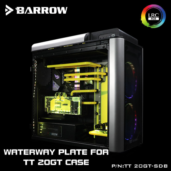 Barrow TT-20GT-SDB Distro plate Thermaltake TT LEVEL 20GT