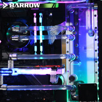Barrow Distro Plate NZXT H700 NZXTH700-SDB