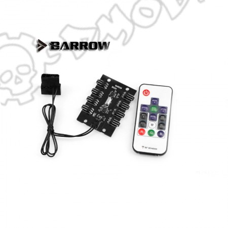Remote control 8 way RGB light controller