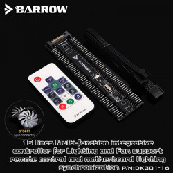 BARROW 16 way RGB and fan integrated controller DK301-16