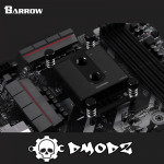 AMD RYZEN BLACK AM4 CPU Water Block - Barrow Watercooling