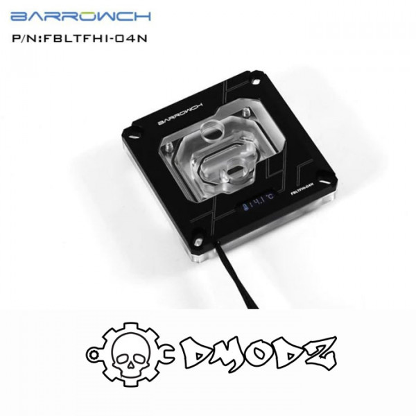 Barrow Intel 115X X99 X299 Digital Display CPU Water Block