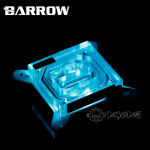 Intel Transparent Acrylic CPU Water Block - Barrow Watercooling