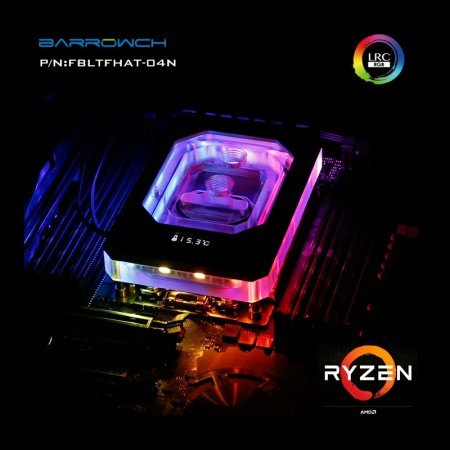 AMD Ryzen Threadripper waterblock OLED display