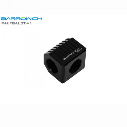 Barrow FBAL3T-V1 Black Cubical 3-Way Adapter
