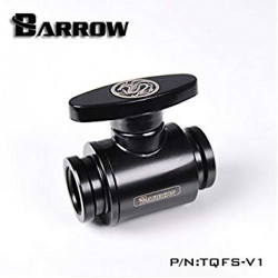 "Barrow Black Ball Valve G1/4"" - Barrow Watercooling"