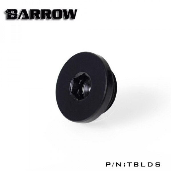Barrow Ultra Low Profile stop Plug Fitting Black TBLDS