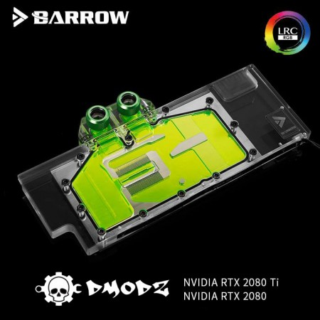 2080 2080Ti GPU waterblock - Barrow Watercooling