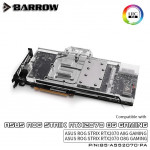 Barrow Asus Rog Strix waterblock RTX2070