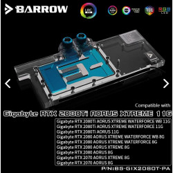 Barrow GPU waterblock gigabyte RTX2080/2070