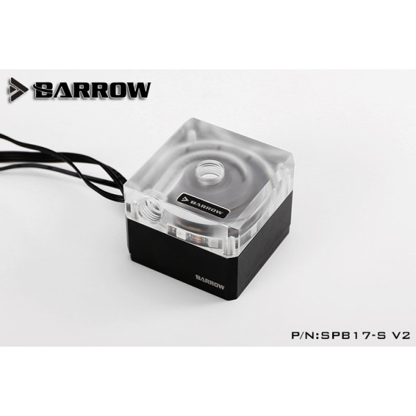 Barrow SPB17-S-V2, 17w Water Pump, DDC Series Metal Shell And PWM Speed Control Water Cooling Pump
