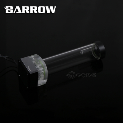 Black Barrow Speed Control Pump Res Combo 195mm - Barrow Watercooling