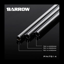 14mm chrome plated copper tube straight 300mm