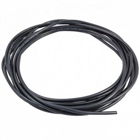 16 AWG Black Silicone Wire 1 Meter.