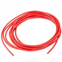 16 AWG Red Silicone Wire 1 Meter.
